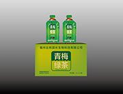 绿茶果味饮料