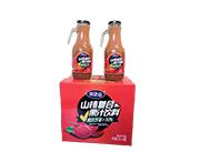 山楂果汁饮料箱装