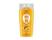 芒果+百香果奶昔