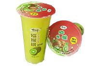 猕猴桃奶茶
