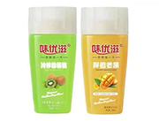 冷榨猕猴桃饮料+鲜橙芒果果汁饮料