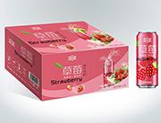 草莓果汁饮料箱装