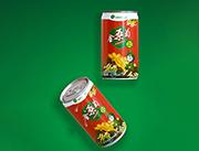 金桑菊植物饮料罐装
