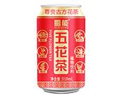雪��五花茶植物�料310ml