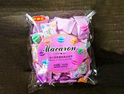 马卡龙草莓味夹心饼干350g
