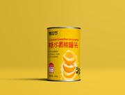 梦立方糖水黄桃罐头