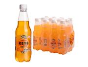 利生汽水橙子味500ml