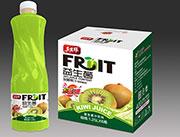 益生菌发酵果汁猕猴桃味1.25L