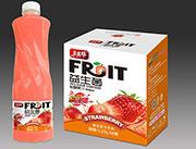 益生菌发酵果汁草莓味
