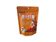 李坡姥娘姜汁红糖350g