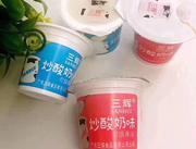 三辉炒酸奶味果冻