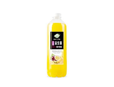 果哇伊益生菌百香果�l酵果汁�料1.5L
