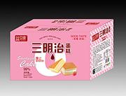 益��H三明治蛋糕(草莓味)