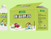 冰菊奶昔�O果味乳味�料1.28LX8瓶