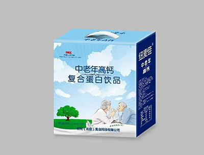 初元乳业中老年高钙复合蛋白饮品礼盒装