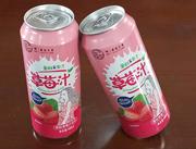 果粒&果汁草莓汁490ml