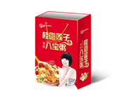 庞迪桂圆莲子八宝粥低糖