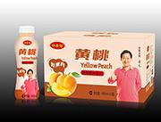 黄桃果肉果汁饮料460ml