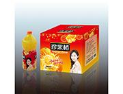 珍果橙�L味�料2.58LX6瓶