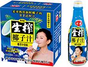 �t威果肉型生榨椰子汁1.25LX6瓶
