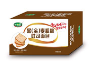 养生冠黑(全)麦粗粮吐司面包