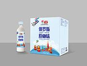 俄�_斯原味酸奶1LX6瓶
