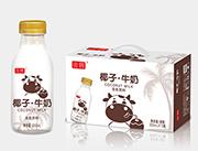 帝�v椰子・牛奶350ml*15