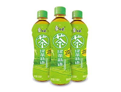 蜂蜜茉莉花味绿茶500ml
