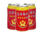乾帝御酒枸杞养生啤酒330ml罐装