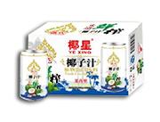 椰星泰式鲜榨椰子汁310g×20/24罐