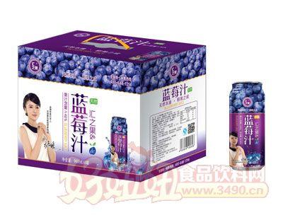 �R之果�{莓汁960ml×6罐紫色