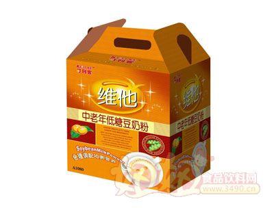 可利客A1080中老年低糖豆奶粉
