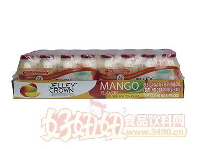 捷利冠芒果味乳酸菌�品100ml×40瓶
