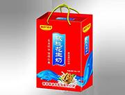 味动力乳业核桃花生奶手提装1x12盒
