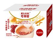 可利客�t豆奶茶64克x30杯