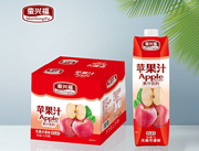 蛮兴福苹果汁1L×6