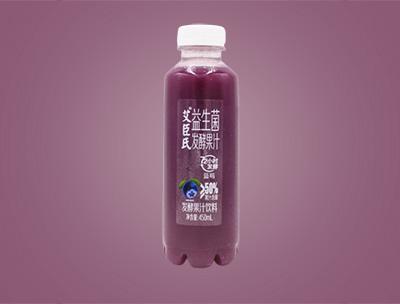 艾臣氏益生菌发酵果汁蓝莓味450ml