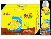 途乐港式柠檬味茶饮料500ml