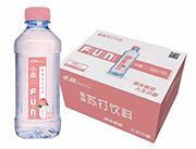 小趣蜜桃苏打水饮料380ml