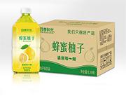 四季阳光蜂蜜柚子1L*8瓶