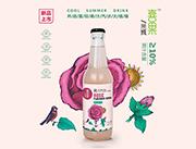 喜果果汁汽水玫瑰味300ml