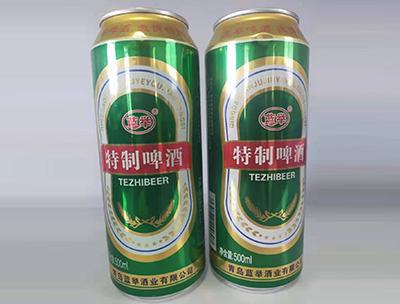 蓝举特制啤酒500ml