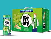 葡萄树下果粒葡萄汁饮品500ml