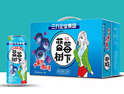 蓝莓树下果粒蓝莓汁饮品500ml