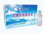 华夏嘉年饮用天然苏打水399ml