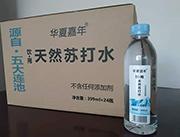 华夏嘉年饮用天然苏打水399ml*24瓶