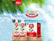 椰植森林果肉椰子味饮品1.25L