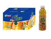 果真有粒黄桃果粒复合果汁饮料550ml