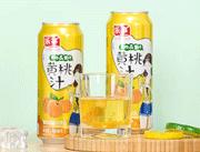 河北��卡��食品有限公司��卡��果粒&果汁�S桃汁485ml