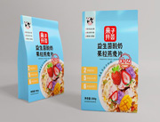 果子�_�C益生菌酸奶果粒燕��片300g